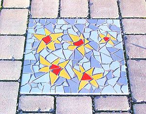 Glasmosaik Bastelmosaik Fliesen 20x20 Cm
