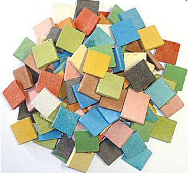 Byzantic-Mosaik 20x20mm - Mischung Multi Colori