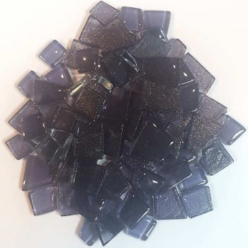 Gletscher-Glas transparent - Violet - 200 g