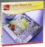 Crackle-Mosaik Set - Glasteller
