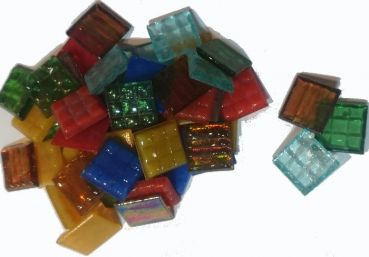 "WiWaColor 20x20mm transparent - ""Multi-Colori"" - 150 g"