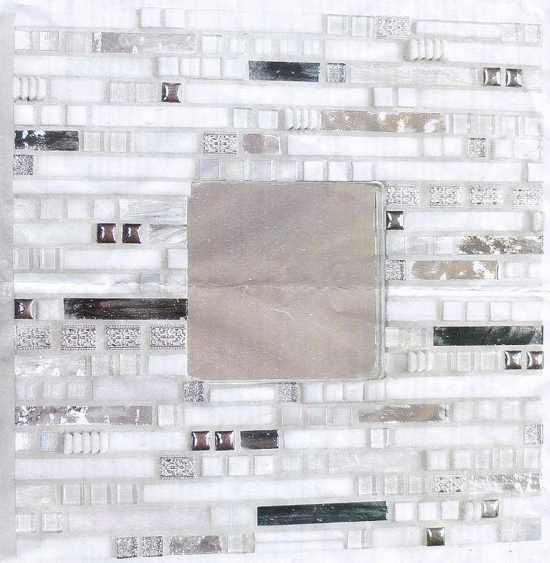 glasmosaik bastelmosaik mosaik set aztec spiegel. Black Bedroom Furniture Sets. Home Design Ideas